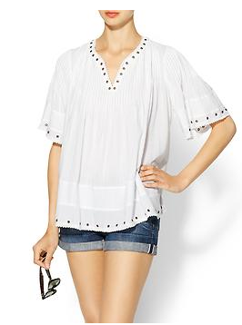 Rhyme Los Angeles Seraphina Blouse, $79.