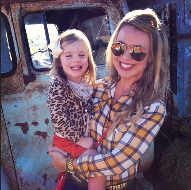 an afternoon at the pumpkin patch with my daughter.
