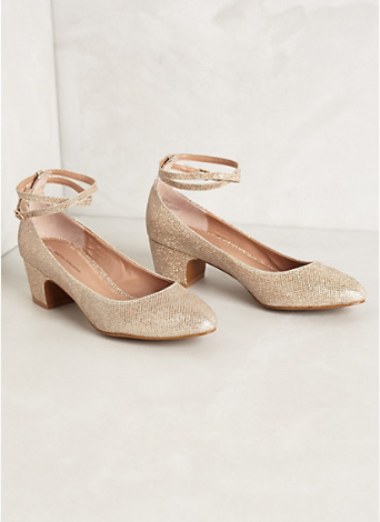 Anthropologie Dovecoat Midi-Heels. {These are currently on sale for an amazing price!}