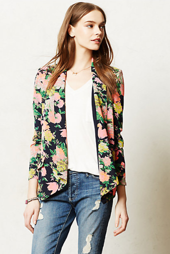 Anthroplogie Botanic Blazer.
