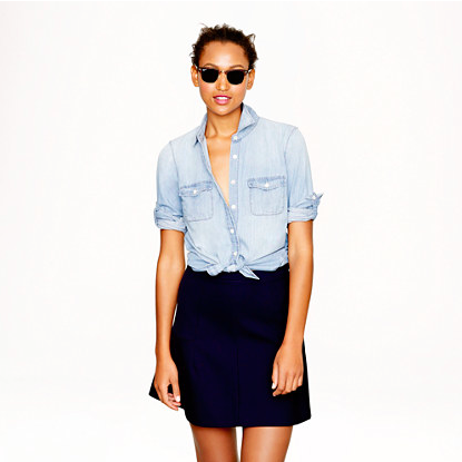 J.Crew Keeper Chambray Shirt.