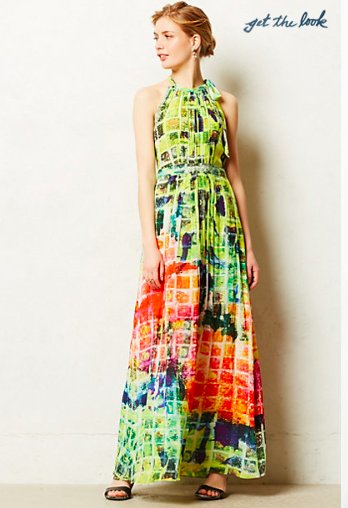 Anthropologie Kolkata Maxi Dress.