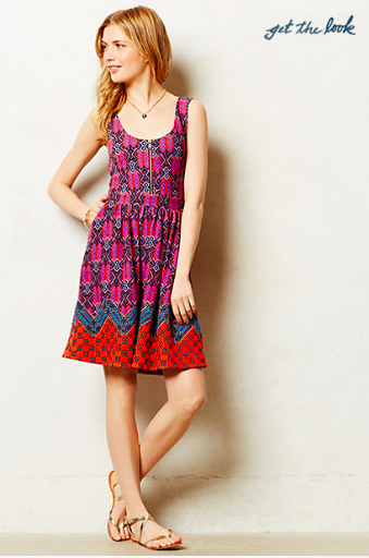 Anthropologie Amapola Dress.