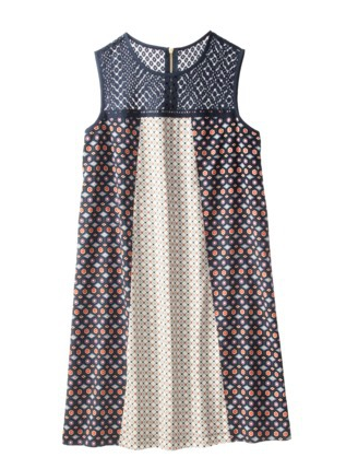 Target Xhilaration Mixed Print Shift Dress.