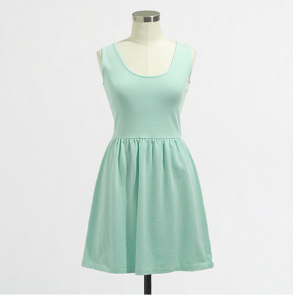 J.Crew Factory Button-back Dress.