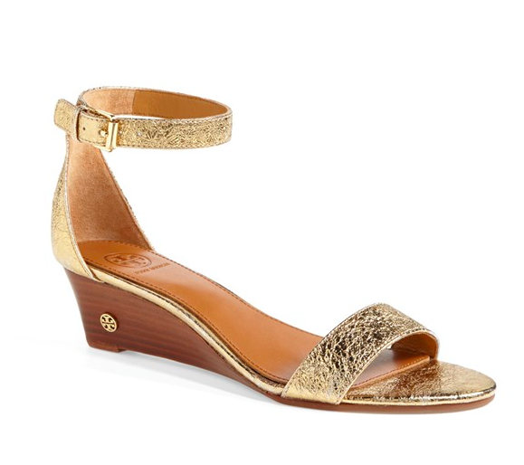 Tory Burch Savannah Wedge Sandal.