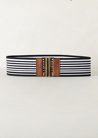 Anthropologie Striped Belt.