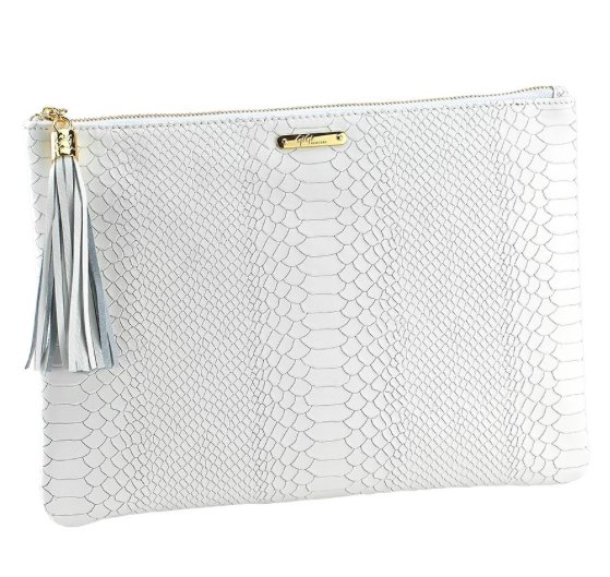 Uber Clutch in White.
