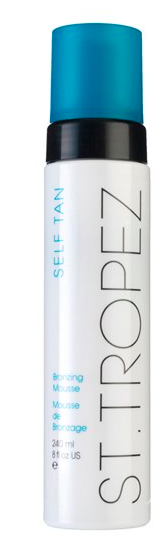 St. Tropez Self Tan Bronzing Mousse.