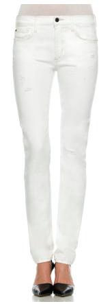 Joe's Skinny Ankle White Jeans.