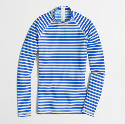 J.Crew Factory Sailor Stripe Rashguard.