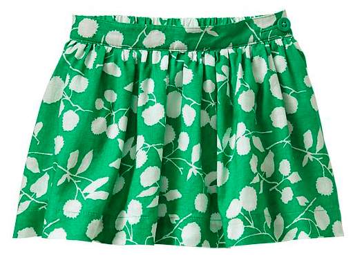 Gap Kids Graphic Floral Circle Skirt.