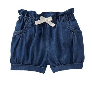 Gap Kids Denim Bubble Shorts.