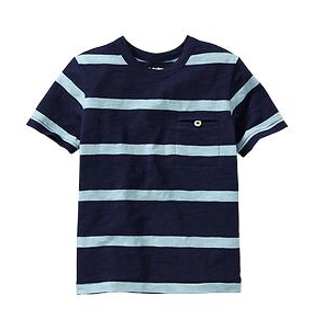 Gap Slub Striped Pocket Tee.