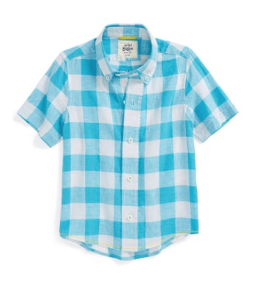 Mini Boden Washed Summer Sport Shirt.