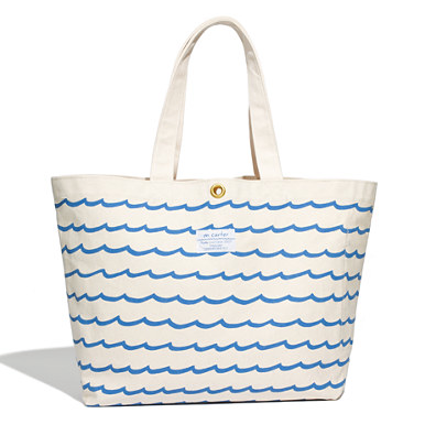M. Carter Wave Tote, $75.