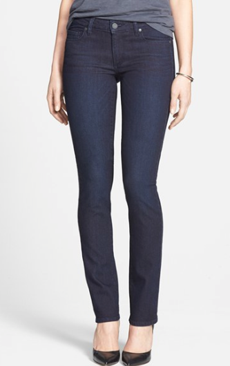 Paige Denim Skyline Straight Leg Jean.
