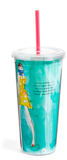 Kate Spade Insulated Tumbler, $11.90. {reguarly $18}
