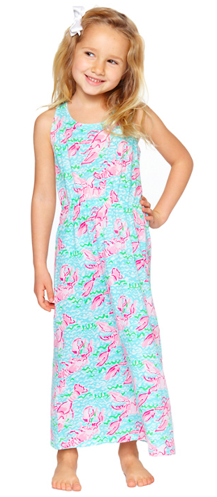 Lilly Pulitzer Little Mills Maxi Dress.