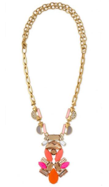 Stella & Dot Pop Geo Necklace.