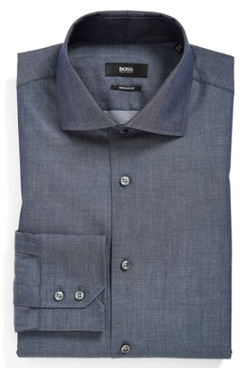 Hugo Boss Sharp Fit Check Dress Shirt