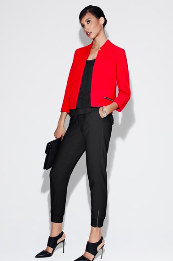 Trouve Zip Track Pants via Nordstrom.
