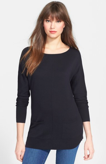 Caslon Tunic Sweater. {currently 40% off!, available in multiple colors!}