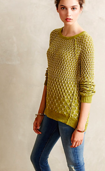 Anthropologie Dot-Dot Pullover. {currently 20% off!}