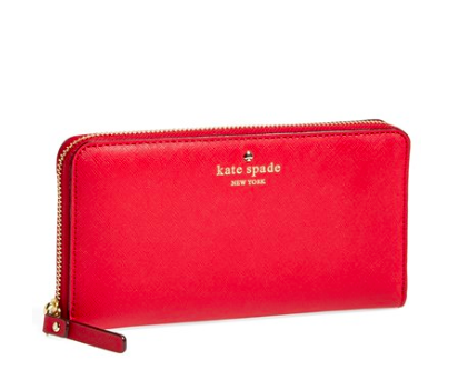 This Kate Spade Wallet is the perfect accessory for stylish gals of any age.