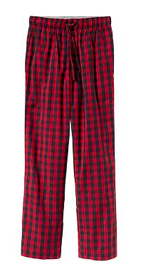 Men's Patterned Pajama Pants.