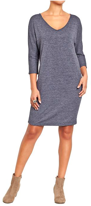 Old Navy Bnoxy Jersey Dress. {available in three colors}
