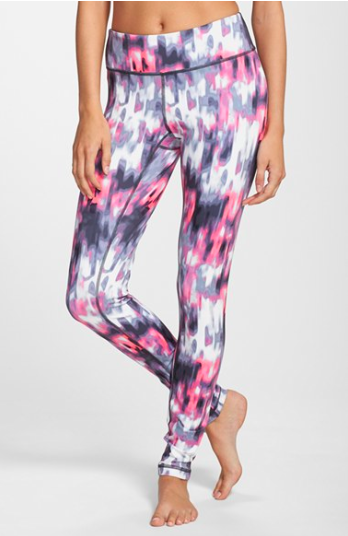 Zella Live-in Leggings in Blur Print.