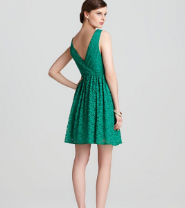 Lace dress by Aqua, $98.