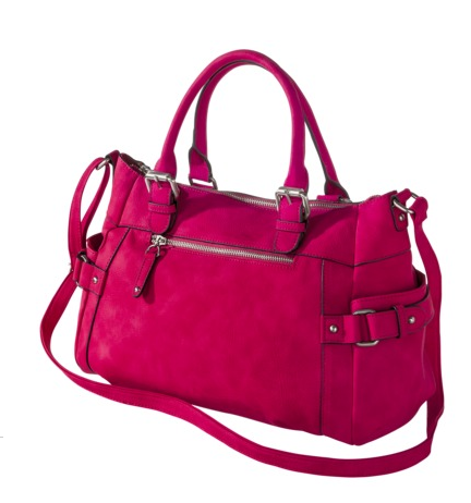 Merona Satchel Handbag, $32.99.