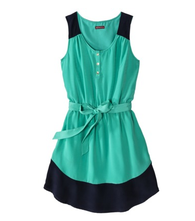Merona Women's Shirttail Hem Dress, $24.99.