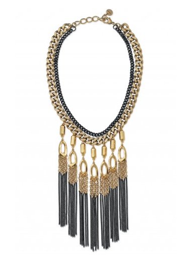 Lillith Fringe Necklace, now $51.75 {originally over $138}.