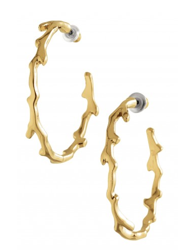 Carobella Hoops, now $16.31 {originally $39}.