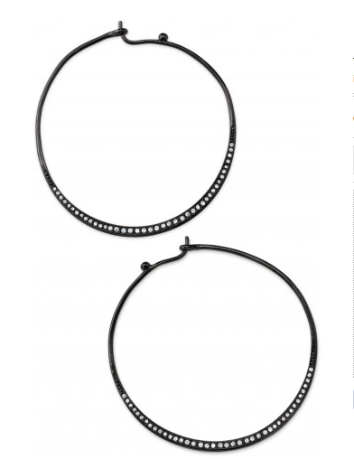 Heiress Hoops, $24.75 {originally $44}.