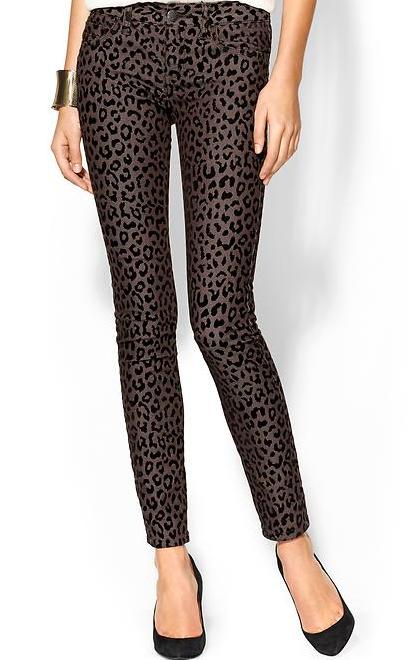 Free People Cheetah Skinny Pants, $98.