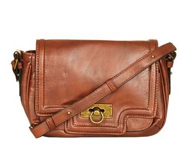 Topshop Faux Leather Crossbody.