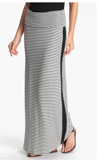 Nordstrom Tuxedo Stripe Maxi Skirt, $58.