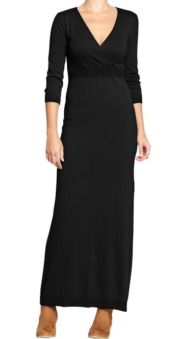 Old Navy Cross-Front Sweater Maxi Dress, $35.